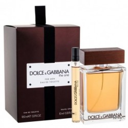 Dolce & Gabbana The One for Men Woda toaletowa 100ml spray + 10ml spray