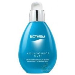 Biotherm Aquasource Nuit Żel nawilżający na noc do wszystkich rodzajów skóry 50ml