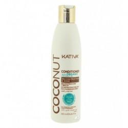 Kativa Coconut Conditioner kokosowa odżywka do włosów odbudowująca i nadająca połysku 250ml