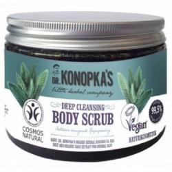 Dr. Konopka`s Dep Cleansing Body Scrub głęboko oczyszczający peeling do ciała 500ml
