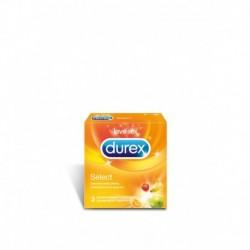 Durex Select owocowe prezerwatywy 3szt