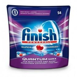 Finish Powerball Super Charged Quantum Max kapsułki do mycia naczyń w zmywarkach 54szt