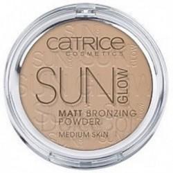 Catrice Sun Glow Matt Bronzing Powder Water Resistant Medium Skin puder brązujący 030 Medium Bronze 9,5g