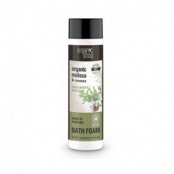 Organic Shop Organic Melissa & Rosemary Skin Elasticity Bath Foam piana do kąpieli 500ml