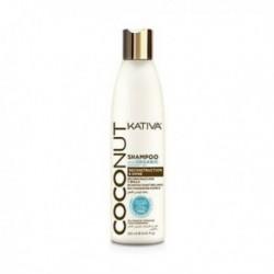 Kativa Coconut Shampoo kokosowy szampon do włosów odbudowujący i nadający połysku 250ml