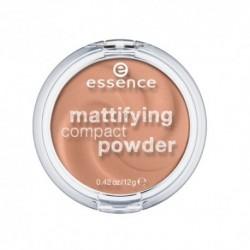 Essence Mattifying Compact Powder puder matujący w kompakcie 02 Soft Beige 11g