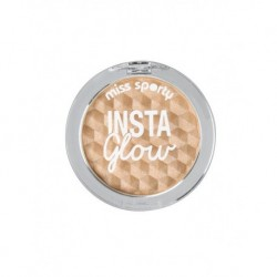 Miss Sporty Insta Glow Highlighter rozświetlacz do twarzy 101 Golden Glow 5g
