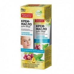 Fito Cosmetics Kremowy olejek do twarzy głębokie nawilżenie cera normalna i mieszana Mięta i Aloes 45ml