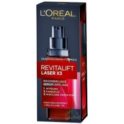 L`Oreal Revitalift Laser X3 Regenerujące serum Anti-Age do twarzy 30ml