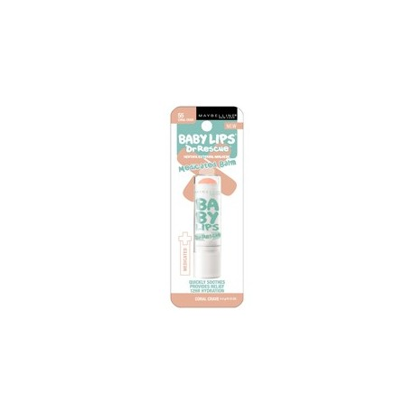Maybelline Baby Lips Dr Rescue balsam do ust Coral Crave 19g