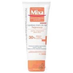 Mixa Intensywna pielęgnacja suchej skóry - Regenerujący lipidowy krem do rąk 100ml