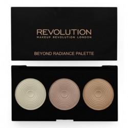 Makeup Revolution Radiant Lights Palette Paleta 3 rozświetlaczy 15g