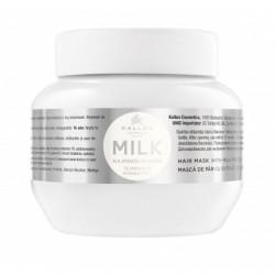 Kallos Milk Hair Mask With Milk Protein maska z wyciągiem proteiny mlecznej do włosów suchych i zniszczonych 275ml