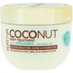 KATIVA Coconut Deep Tratment kokosowa maska do włosów odbudowująca i nadająca połysku 250ml