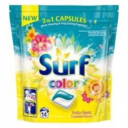 Surf Kapsułki do prania do koloru Fruity Fiesta & Summer Flowers 14szt