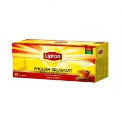 Lipton Kompozycja czarnych herbat Taste Of London 25 torebek 50g