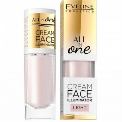 Eveline All In One Cream Face Illuminator lekki kremowy rozświetlacz 8ml Light
