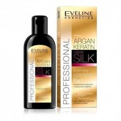 Eveline Argan Liquid Silk 8w1 arganowy szampon do włosów osłabionych i zniszczonych 150ml