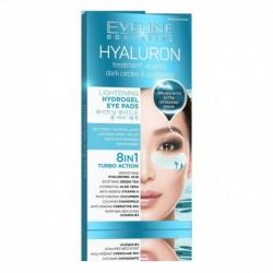 Eveline Hyaluron Treatment 8w1 rozświetlające hydrożelowe płatki pod oczy 2szt