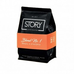 Story Coffee Roasters Blend No.1 kawa palona ziarnista Jaśmin & Marcepan & Kakao & Liczi 250g