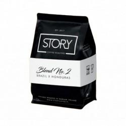 Story Coffee Roasters Blend No.2 kawa palona ziarnista Kakao & Melasa & Śliwki w Czekoladzie 250g