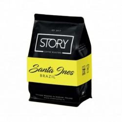 Story Coffee Roasters Brazil Santa Ines kawa palona ziarnista Jabłko & Jagody & Marcepan & Pralina Czekoladowa 250g