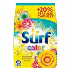 Surf Color proszek do prania do koloru Fruity Fiesta & Summer Flowers 1,3kg
