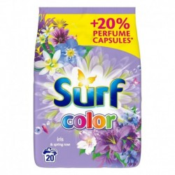 Surf Color proszek do prania do koloru Iris & Spring Rose 1,3kg