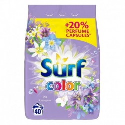 Surf Color proszek do prania do koloru Iris & Spring Rose 2,6kg