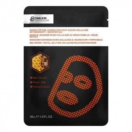 Timeless Truth Mask Bee Venom & Rpyal Jelly Bio - Cellulose Rejuvenating Mask odmładzająca maska z bio celulozy 30ml