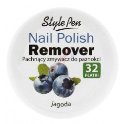 Ferity Nail Polish Remover Pachnący zmywacz do paznokci Jagoda