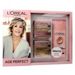 L`Oreal Age Perfect 60+ Krem na dzień 50ml + Krem na noc 50ml + Mleczko oczyszczające 200ml