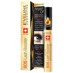 Eveline Sos Lash Booster With Argan Oil 5in1 Serum do rzęs 10ml