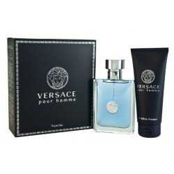 Versace Pour Homme Woda toaletowa 100ml spray + Żel pod prysznic 100ml