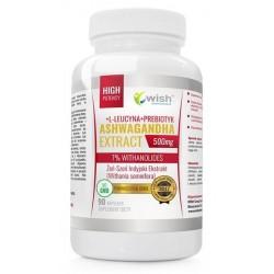 Wish Ashwagandha Extract Żeń-Szeń Indyjski Suplement diety 90 kapsułek