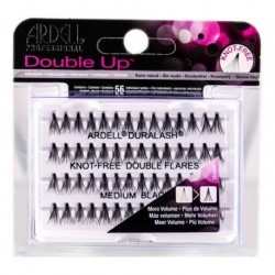 Ardell Double Individuals Zestaw 56 kępek rzęs Medium Black