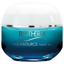 Biotherm Aquasource Night Spa Krem na noc do każdego rodzaju cery 50ml