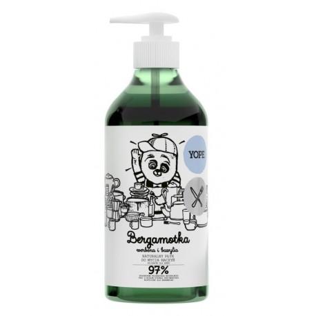Yope Naturalny płyn do mycia naczyń Bergamotka, Werbena i Bazylia 750ml
