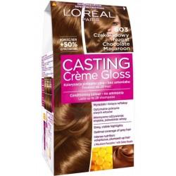 L`Oreal Casting Creme Gloss Farba do włosów 603 Czekoladowy Nugat