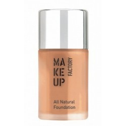 Make Up Factory All Natural Foundation Podkład rozświetlający 17 Caramel 30ml