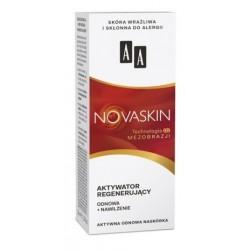AA Novaskin Regenerator Activator Aktywator regenerujący odnowa + nawilżenie do skóry wrażliwej i skłonnej do alergii 30ml