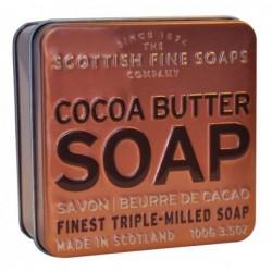 The Scottish Fine Soaps Cocoa Butter Soap In A Tin Mydło w puszce z masłem kokosowym 100g