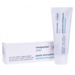 Ziaja Mintperfekt Activ Pasta do zębów stomatologiczna remineralizująca 75ml