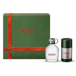 Hugo Boss Hugo Man (Green) Woda toaletowa 75ml spray + Dezodorant 75ml sztyft