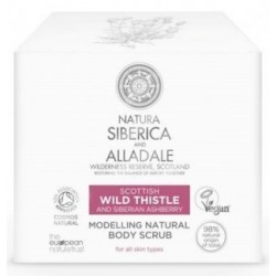 Siberica Professional Wild Thistle Modelling Natural Body Scrub Ujędrniający scrub do ciała 370ml