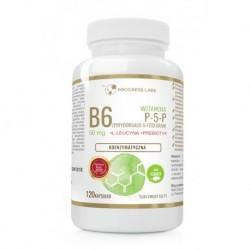 Progress Labs Witamina B3 (P-5-P) 50mg suplement diety 120 kapsułek