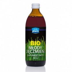 Lookpharm Bio Młody Jęczmień sok z młodego jęczmienia suplement diety 500ml