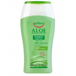 EquilIbra Gentle Toner aloesowy tonik Aloe Vera 200ml