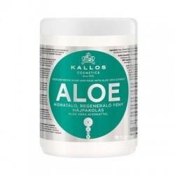 Kallos Regenerująca maska nadająca blasku z ekstarktem aloe vera do włosów suchych i łamiących się 1000ml