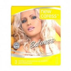 New Caress Safeness lateksowe prezerwatywy 3szt